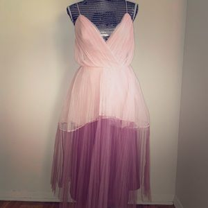 Beautiful Pink & Purple ASOS Dress